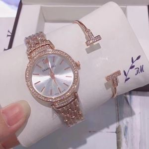 SWR08 A01 Swarovski Elegant Watch Set (Watch + Bangle )