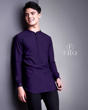 KURTA FEEQ 2019- PURPLE