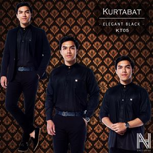 Kurtabat by HANA (Black)