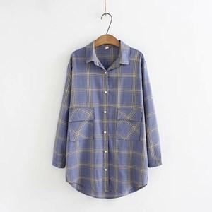 Check Overshirt (Blue)