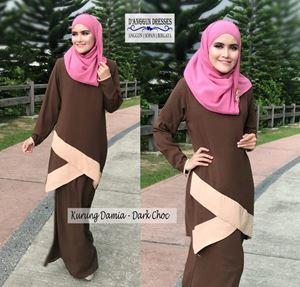 Kurung Damia Dark Choc