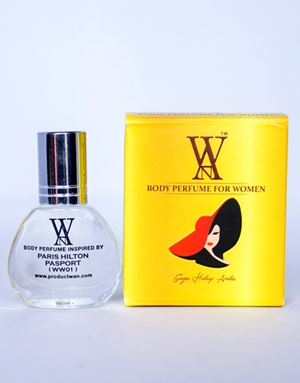 WAN BODY PERFUME - (WW01) PARIS HILTON PASPORT