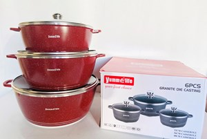 YUMMELIFE 3IN1 COOKWARE