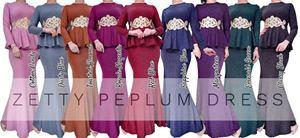 ZETTY PEPLUM DRESS