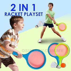 2 IN 1 RACKET PLAYSET