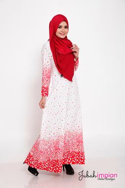 JUBAH YASMEEN ( Red Chili )