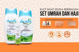 SUCHI Kosmetik Umrah Haji - Set Penting