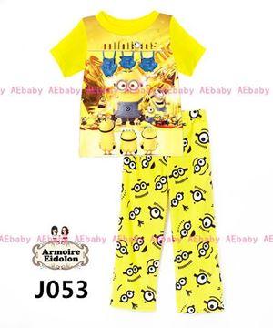 @. J053 AE PYJAMAS (P09140P) SIZE 90-130CM