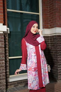 Baju Kebarung Jameela (KJ109) - Koleksi Raya 2019