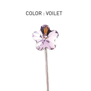 Pin 3D Flower Luxe Violet