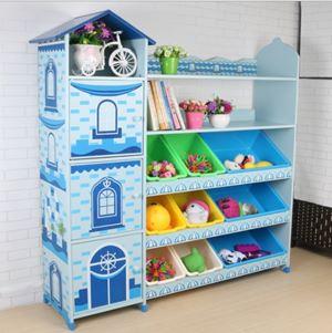 New Prince & Princess Toys Shelf Storage Rack@Multipurpose Rack@Toys Rack