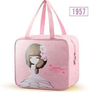 LUNCHBOX  BAG ( LIGHT PINK GIRL )