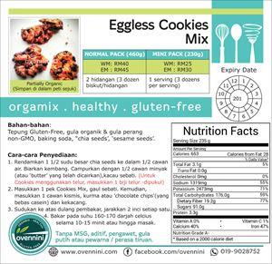 Eggless Cookies Mix