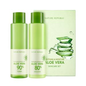 NATURE REPUBLIC Soothing And Moisture Aloe Vera 2 Steps Set