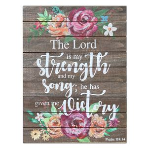 The Lord is my strength - Psalm 118:14