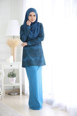 AULIYA LACE - SAPPHIRE BLUE