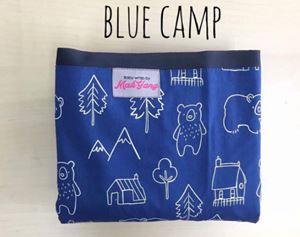 BABY WRAP MAK YANG BLUE CAMP