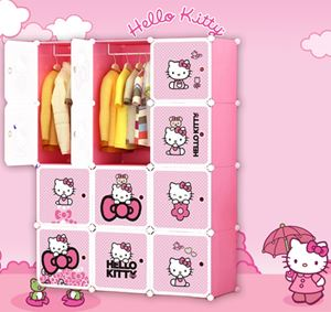Hello Kitty 12C Wardrobe (KT12)