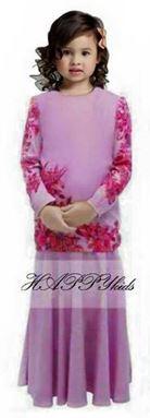 Baju Kurung Moden - Purple