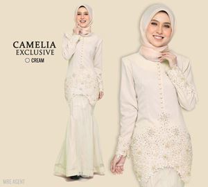 KURUNG CAMELIA EXCLUSIVE CREAM