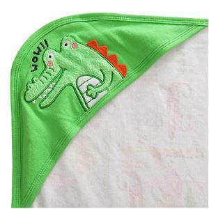 Crocodile Hooded Blanket