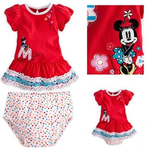 @  210337  MINNIE GIRL SET. ( SIZE 100 & 110 ). ** SOME DEFFECTED Z**