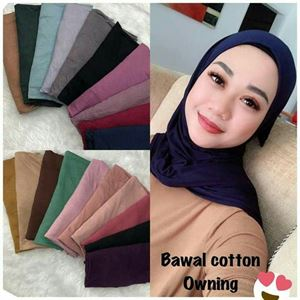 BAWAL INSTANT OWNING COTTON JERSEY (BORONG)