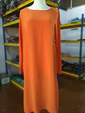 Blouse Sonia Punjabi Orange