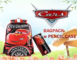 CARS BAGPACK (+ PENCIL CASE)
