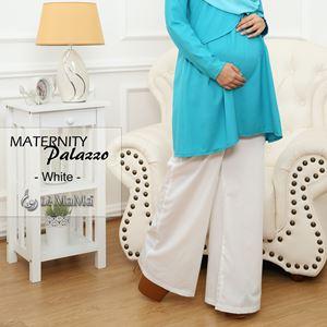 Maternity Palazzo : White
