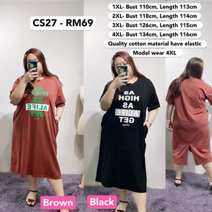 CS27 *Bust 43 to 53 inch/ 110-134cm