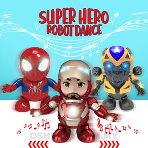SUPER HEROES ROBOT DANCE