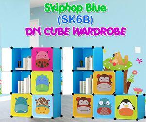Skiphop BLUE 6C DIY WARDROBE (SK6B)