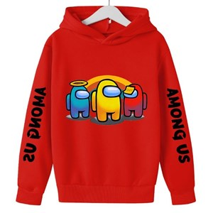 Among US Unisex Sweater -[  RED  ]   ( 100-110-120-130-140-150-160cm )