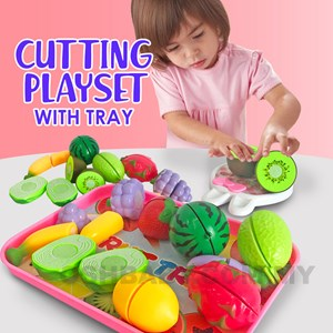 CUTTING PLAYSET WITH TRAY