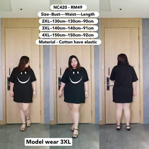 NC420  *Bust 39 to 59 inch/ 100-150cm