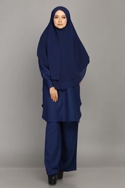HUMAIRAH-NAVY BLUE