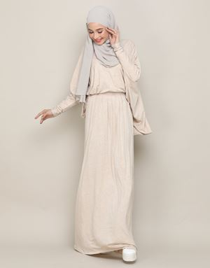 CLARA SKIRT IN BEIGE