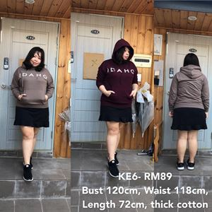 KE6 *Ready Stock *Bust up 120cm