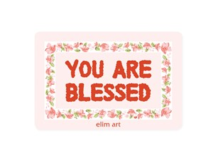 Floor Mat - You are blessed