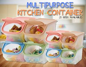 Multipurpose Kitchen Container (2 sizes available)