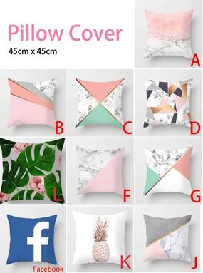 Pillow Cover /sarung bantal 45 cm x 45 cm