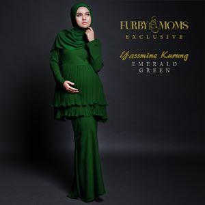 Yassmine Kurung - Emerald Green
