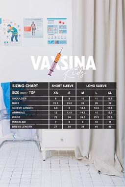 VAXSINA KIDS LONG SLEEVE DENIM BLUE
