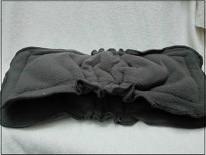 Bamboo charcoal insert with double gusset