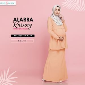 Alarra Kurung - Peach (Pre Order : 3nd Batch)