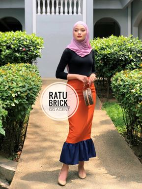 Ratu pencil skirt