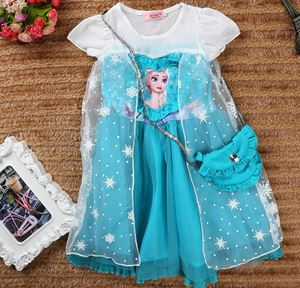 Frozen Dress with Mini Sling Bag