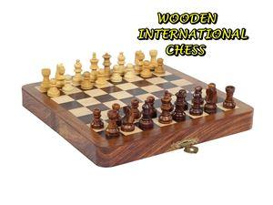 WOODEN INTERNATIONAL CHESS ETA 3/4/2018