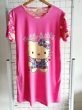 Dress Pyjamas Dewasa Hello Kitty